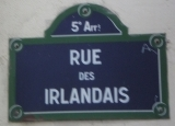 rue des irlandais