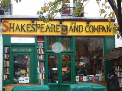 La librairie Shakespeare & Company