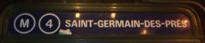 métro Saint Germain