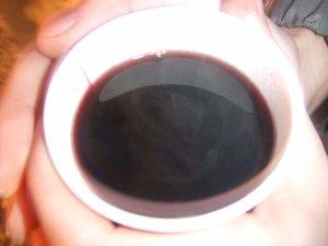 Fontaine Wallace et vin chaud