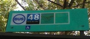 Bus 48 Paris
