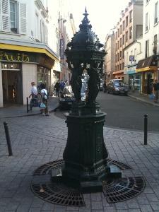 Fontaine Wallace rue de meaux