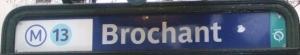 métro Brochand à Paris