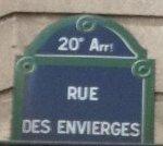Rue des Envierges